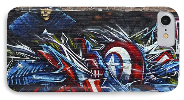 Captain Graffiti IPhone Case by Frozen in Time Fine Art Photography