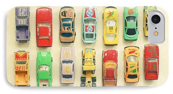 Car Park IPhone Case by Cassia Beck