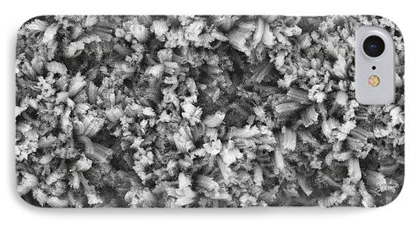 Carbon Nanotube Material IPhone Case by Stephanie Getty, Nasa Goddard