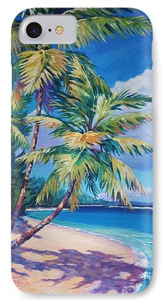 Caribbean Paradise IPhone Case by John Clark