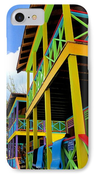 Caribbean Porches IPhone Case by Randall Weidner