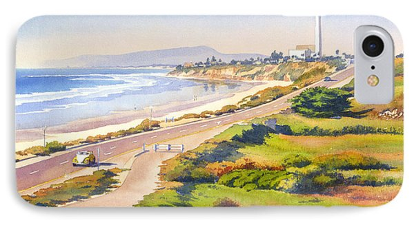 Carlsbad Rt 101 IPhone Case by Mary Helmreich