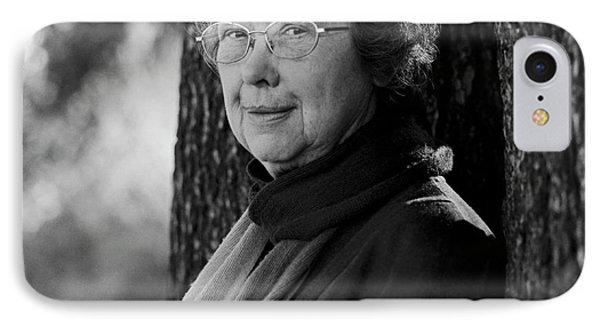 Carole Jordan IPhone Case by Lucinda Douglas-menzies