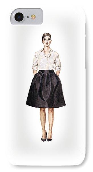 Carolina Herrera Classic Look IPhone Case by Jazmin Angeles
