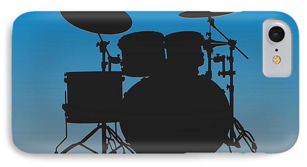 Carolina Panthers Drum Set IPhone 7 Case by Joe Hamilton