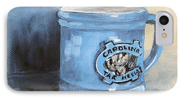 Carolina Tar Heel Coffee Cup Phone Case by Torrie Smiley