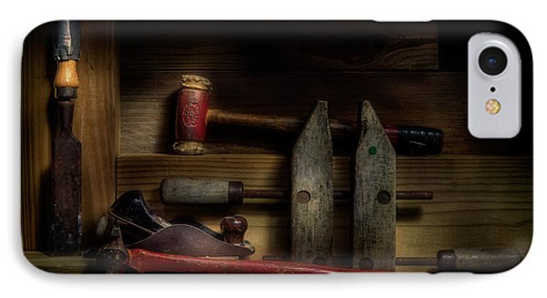 Carpentry Still Life IPhone Case by Tom Mc Nemar