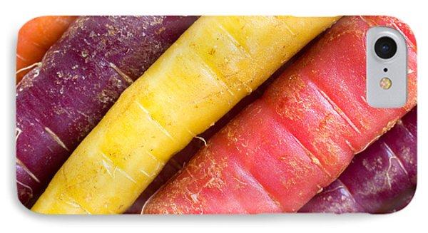 Carrot Rainbow IPhone 7 Case by Heidi Smith