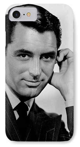 Cary Grant IPhone Case by Celestial Images