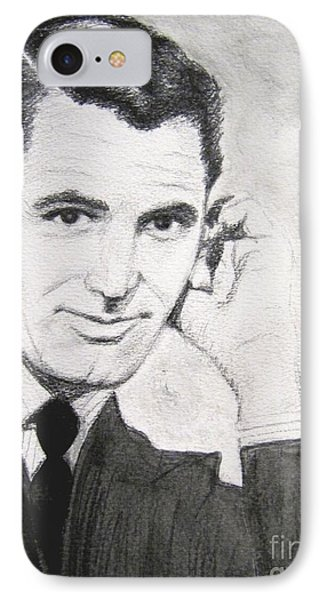 Cary Grant IPhone Case by Denise Railey