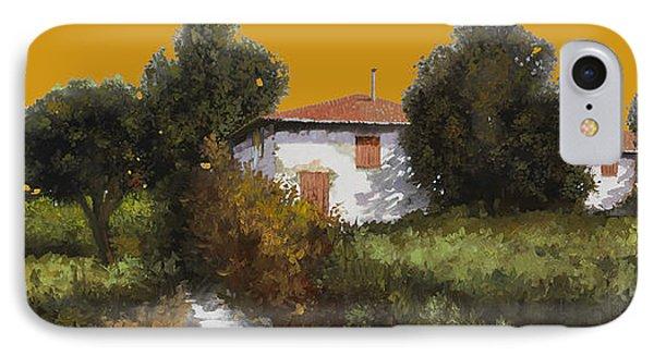 Casa Al Tramonto Phone Case by Guido Borelli