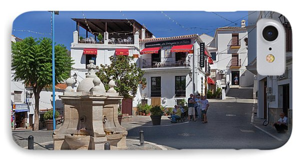 Casares Village Streets Malaga IPhone Case by Panoramic Images