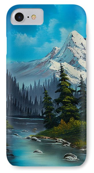 Cascading Falls Phone Case by C Steele