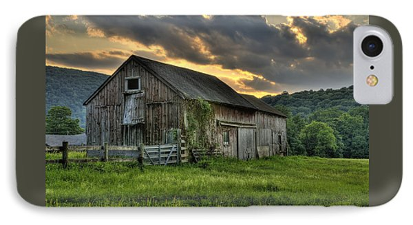Casey's Barn IPhone Case by Thomas Schoeller