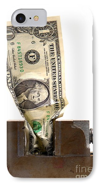 Cash Crunch IPhone Case by Olivier Le Queinec