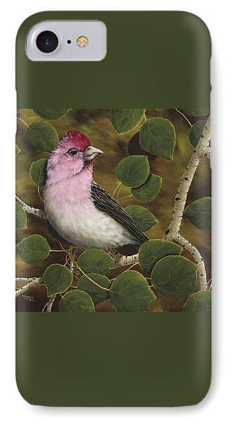 Cassins Finch IPhone 7 Case by Rick Bainbridge
