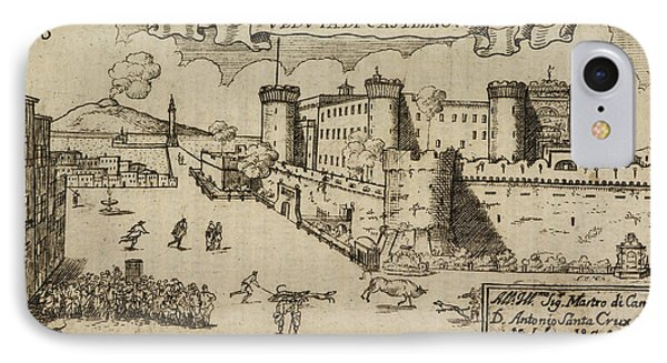 Castelnovo A Hilltop Fort IPhone Case by British Library