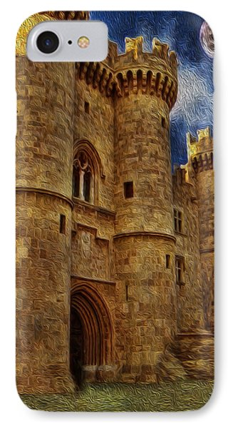 Castle By Moonlight Phone Case by Lee Dos Santos