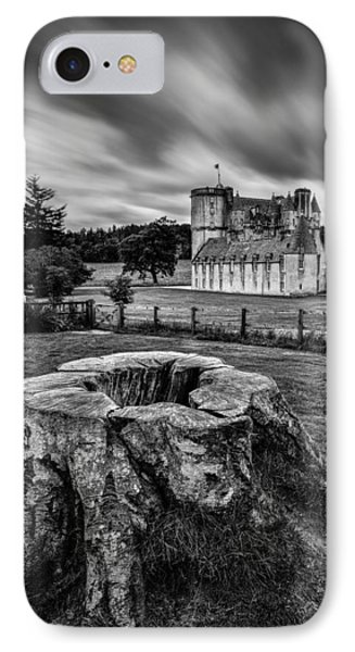 Castle Fraser IPhone Case by Dave Bowman