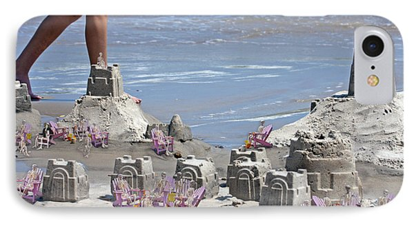 Castle Kingdom  IPhone Case by Betsy Knapp