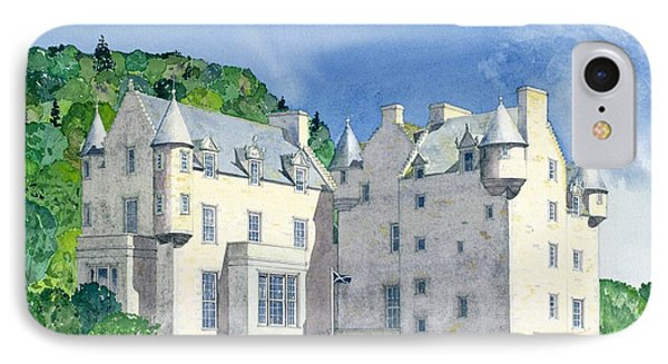 Castle Menzies Phone Case by David Herbert