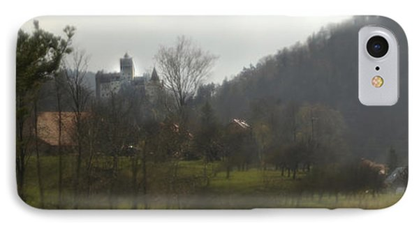 Castle On A Hill, Bran Castle IPhone Case by Panoramic Images