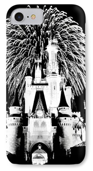 Castle Show Black And White IPhone Case by Benjamin Yeager