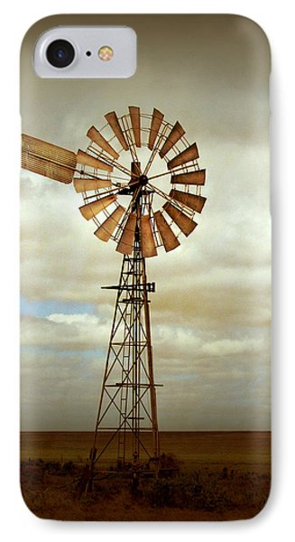 Catch The Wind IPhone Case by Holly Kempe