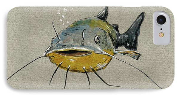 Catfish IPhone Case by Juan  Bosco