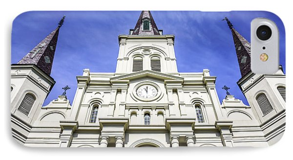 Cathedral-basilica Of St. Louis King Of France Phone Case by Paul Velgos