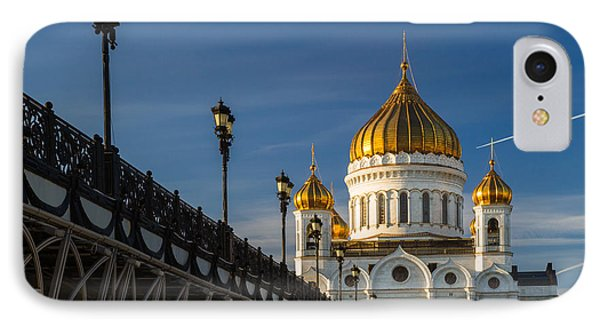 Cathedral Of Christ The Savior In Moscow - Featured 3 Phone Case by Alexander Senin
