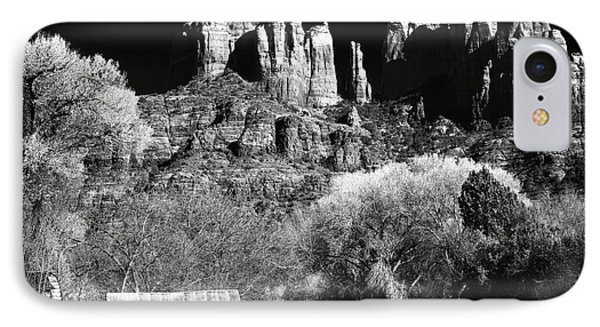 Cathedral Rock Phone Case by John Rizzuto