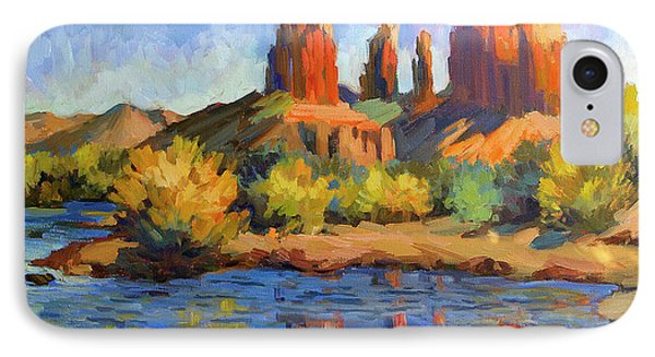 Cathedral Rock Sedona IPhone Case by Diane McClary