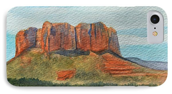 Cathedral Rock Sedona IPhone Case by James Zeger