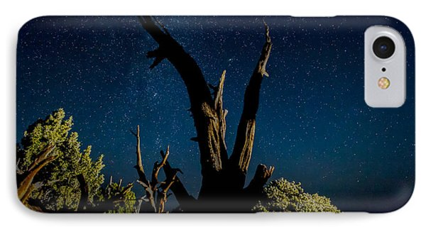 Cathedral Valley Night Sky Phone Case by Jennifer Grover
