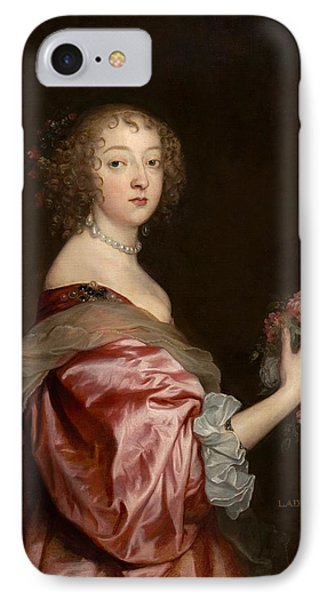 Catherine Howard IPhone Case by Anthony van Dyck