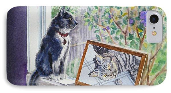 Cats And Mice Sweet Memories IPhone 7 Case by Irina Sztukowski