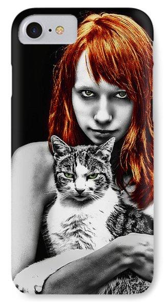 Cats Phone Case by Joachim G Pinkawa