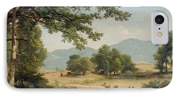 Catskill Meadows In Summer IPhone Case by Asher Brown Durand