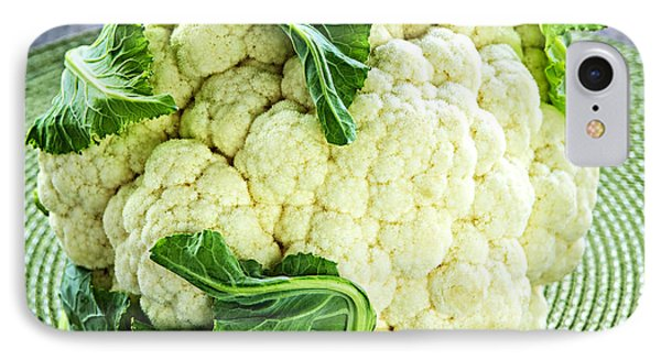 Cauliflower IPhone 7 Case by Elena Elisseeva