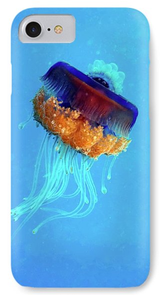 Cauliflower Jellyfish IPhone 7 Case by Louise Murray