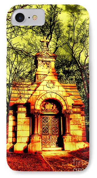 Cave Hill Haunting Phone Case by Darren Fisher