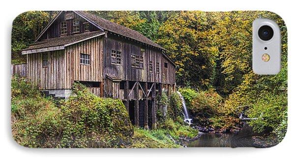 Cedar Creek Grist Mill IPhone Case by Mark Kiver