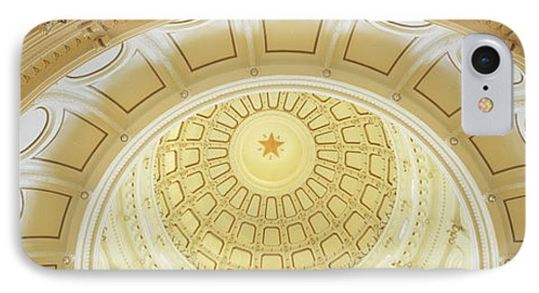 Ceiling Of The Dome Of The Texas State IPhone 7 Case by Panoramic Images