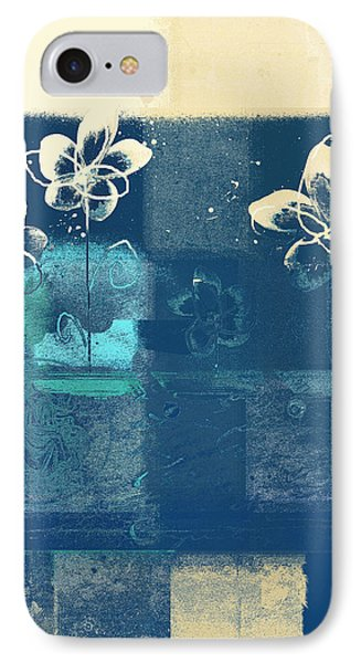Celebrate - Blue3tx2 Phone Case by Variance Collections