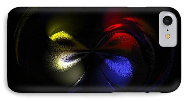 Celestial Dance Digital Art Phone Case by Georgeta  Blanaru