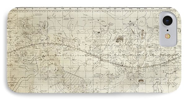 Celestial Map Of The Heavens IPhone Case by Library Of Congress, Geography And Map Division