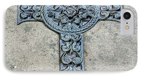 Celtic Cross IIi Phone Case by Suzanne Gaff