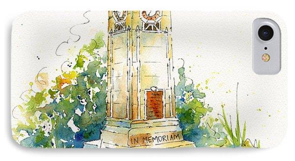 Cenotaph Clock Tower Phone Case by Pat Katz