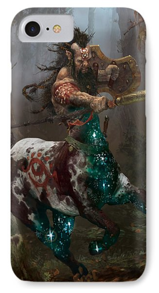 Centaur Token IPhone Case by Ryan Barger